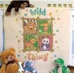 Wild Thing Quilt - Cross Stitch Pattern