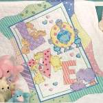 Zoo Alphabet Quilt - Cross Stitch Pattern