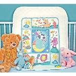 Hey Diddle Diddle Baby Quilt - Cross Stitch Pattern