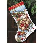 Santas Journey Stocking - Cross Stitch Pattern