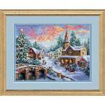 Holiday Village - Cross Stitch Pattern