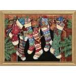 The Stockings Were Hung - Cross Stitch Pattern