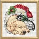 Christmas Morning Pets - Cross Stitch Pattern