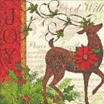 Winter Reindeer - Cross Stitch Pattern