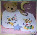 Mother Goose Bibs - Cross Stitch Pattern