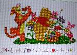 Friends Like Flowers - Cross Stitch Pattern