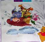 Sledding Pooh and Friends - Cross Stitch Pattern
