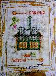 Cooking - Cross Stitch
