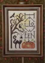 Halloween Screen - Cross Stitch Pattern