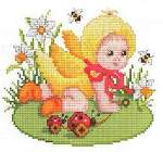 Chicken Baby - Cross Stitch Pattern