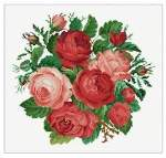 Bouquet of Roses - Cross Stitch Pattern