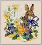 Easter Rabbit - Cross Stitch Pattern