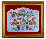 Santas North Pole - Cross Stitch Pattern