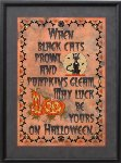 Halloween Luck - Cross Stitch Pattern