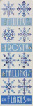 Flakes - Cross Stitch Pattern