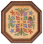 Ornaments Ala Round - Cross Stitch Pattern