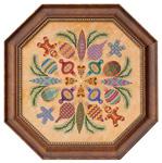 Ornaments Ala Round - Cross Stitch Pattern