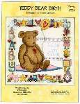 Teddy Bear Birth - Cross Stitch