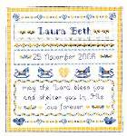 Baby Blessings - Cross Stitch Pattern