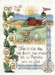 Rejoice and Be Glad - Cross Stitch Pattern