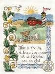 Rejoice and Be Glad - Cross Stitch Pattern
