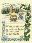Peace in Our Hearts - Cross Stitch