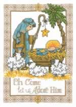 Adore Him - Cross Stitch Pattern