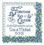 Forever and Ever - Cross Stitch Pattern