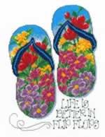 Flip Flop Summer - Cross Stitch Pattern