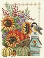 Fall Basket - Cross Stitch Pattern