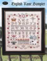 English Rose Sampler - Cross Stitch