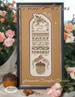 Roses and Acorns - Cross Stitch
