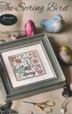 The Spring Bird - Cross Stitch Pattern