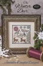 The Winter Deer - Cross Stitch Pattern