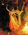 Fire Dance - Cross Stitch Pattern