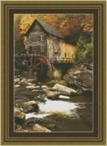 Glade Creek Mill - Cross Stitch Pattern