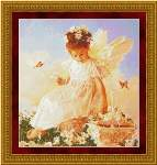 Butterfly Kisses - Cross Stitch