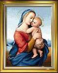 Madonna Tempi - Cross Stitch Pattern