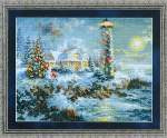 Lighthouse Christmas - Cross Stitch Pattern