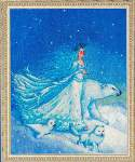 Snowkeeper - Cross Stitch Pattern