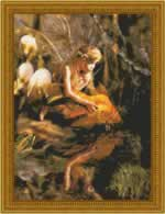 Golden Fairy - Cross Stitch Pattern