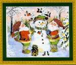 Santas Helpers - Cross Stitch Pattern