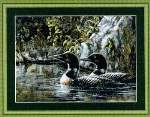 Loon Serenade - Cross Stitch Pattern
