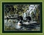 Loon Serenade - Cross Stitch Pattern