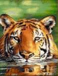 Water Tiger II - Cross Stitch Pattern