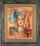 Nefertiti - Cross Stitch Pattern