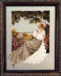 Nantucket Rose - Cross Stitch