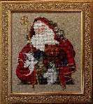 Santa of the Forest - Cross Stitch