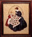 The Quiltmaker - Cross Stitch