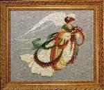Angel of Autumn - Cross Stitch